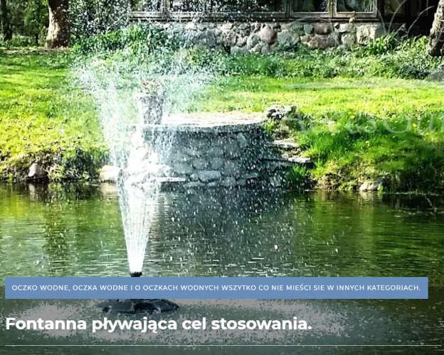 pływajaca-fontanna-oase-polski-sklep