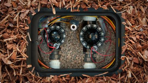Elektrozawór hunter PGV montaż